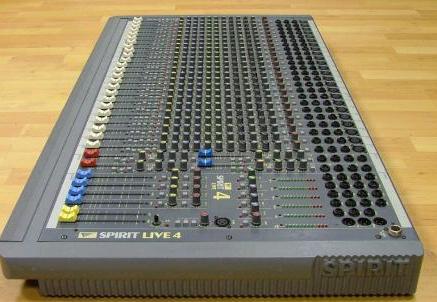 SOUNDCRAFT-SPIRIT LIVE 4 — 24C (ΠΡΟΣΦΑΡΑ)