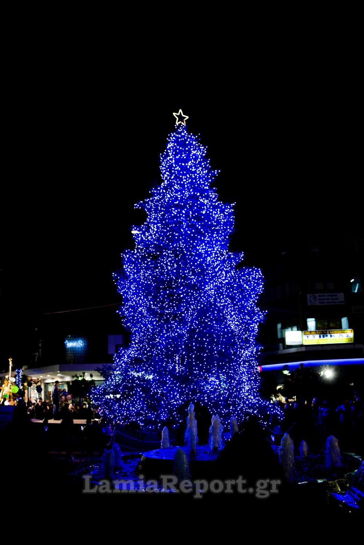 Χριστουγεννιάτικο δέντρο στη ΛΑΜΙΑ