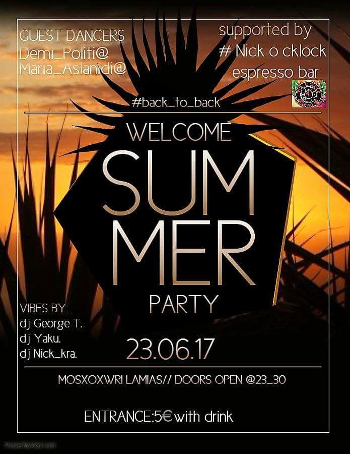 SUAMMER PARTY MOSXOXORI LAMIA 2017 audio-m.gr